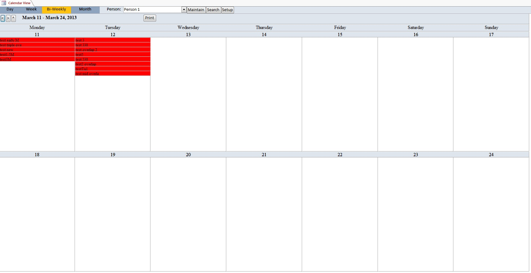 Room Planner Free Microsoft Access Church Calendar Scheduling Database Template