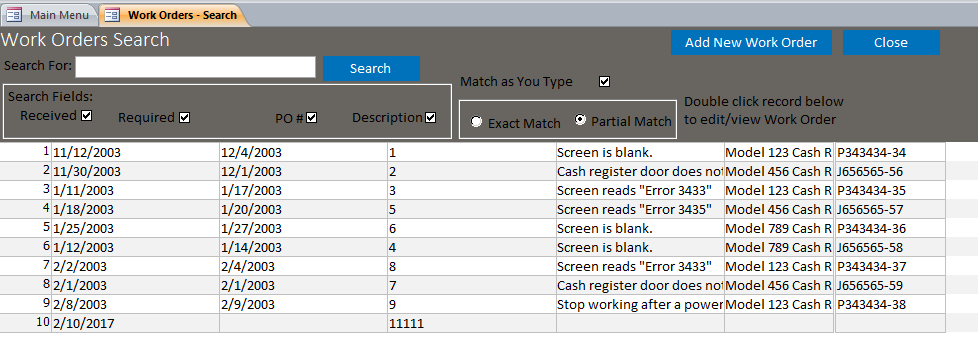 5 service order templates formats examples in word excel microsoft