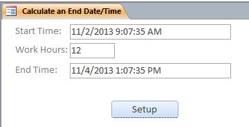 End Date Calculation Template |  End Date Calculation Database