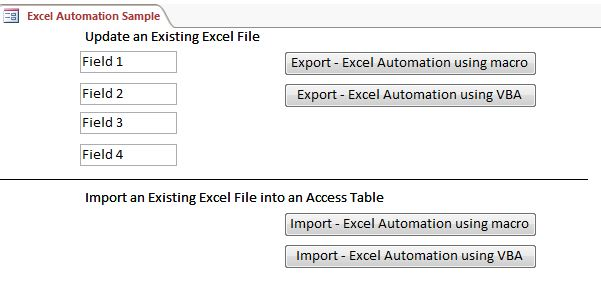 Microsoft access sample code excel automation ames iowa download a demonstration ibookread