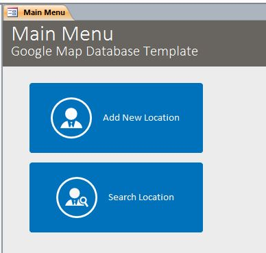 Microsoft Access Google Map Database | Google Maps with Access