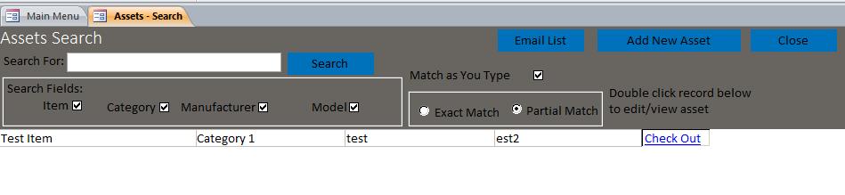 lending library database template