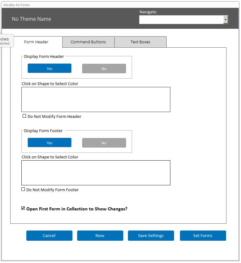 Microsoft Access Modify Forms Database Template