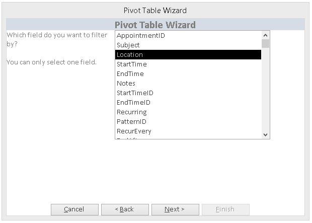 Pivot Table Database Template Pivot Table