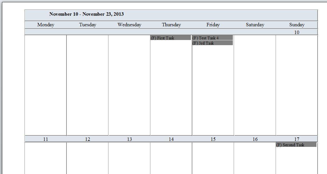 Bi Weekly Calendar Template Idealstalist