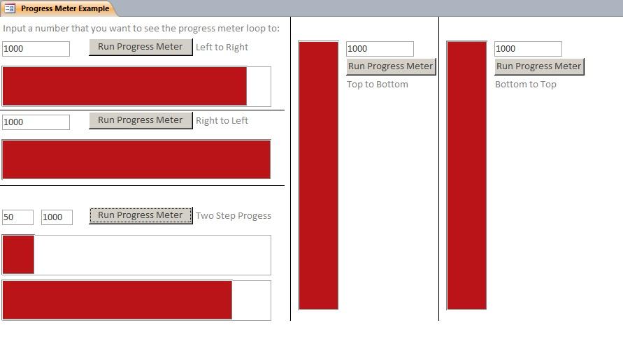 custom progress bar