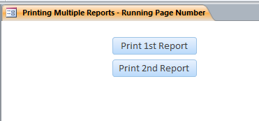 Report Pages Template | Report Pages Database
