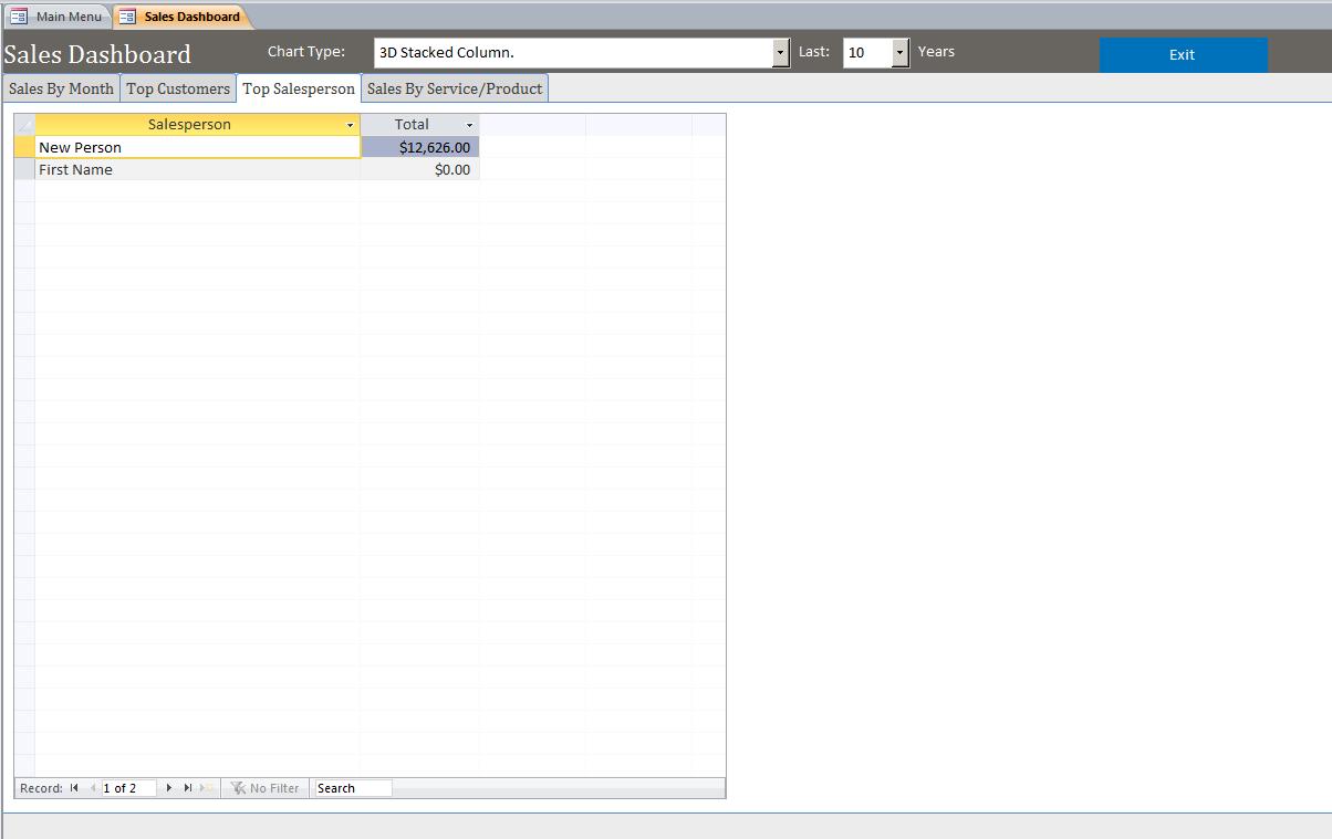 microsoft access work order seminar build a service database