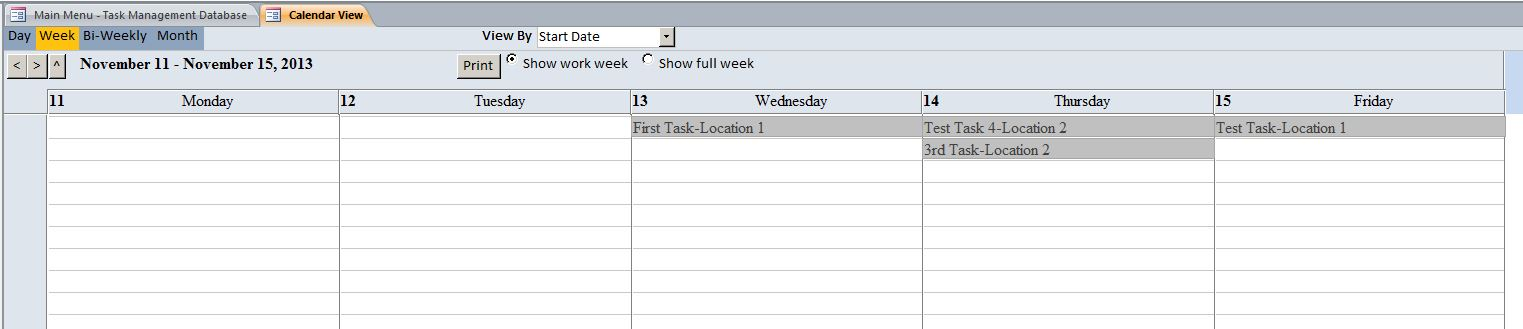 Task Management Database Template | Task Database